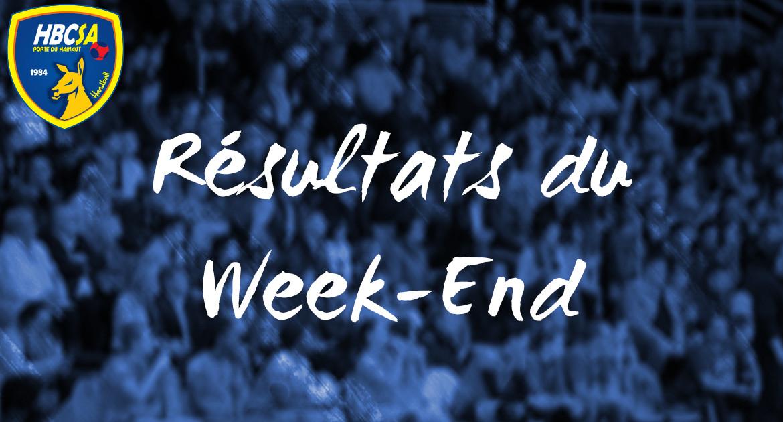 Les résultats du 01 et 02/06