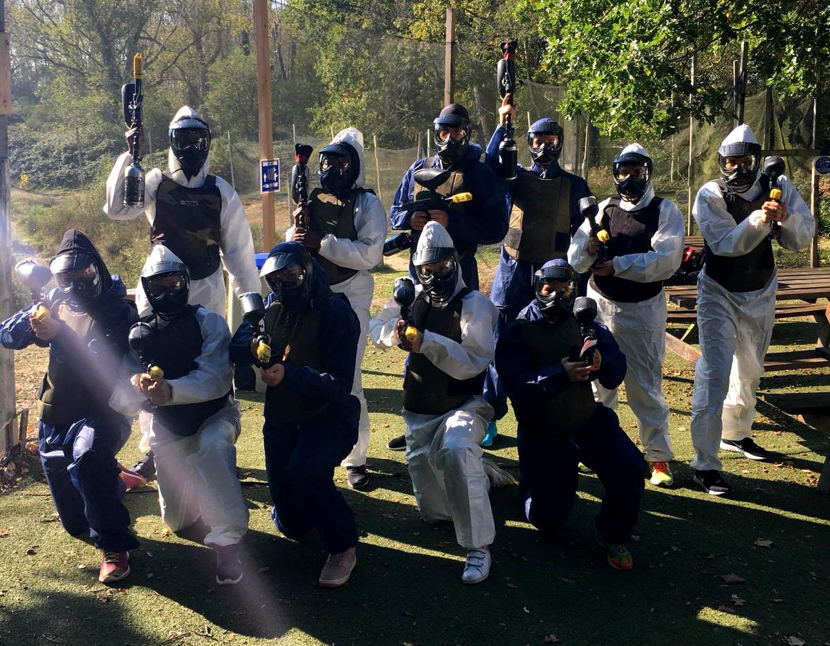 Le HBCSA-PH au Natural Paintball Park