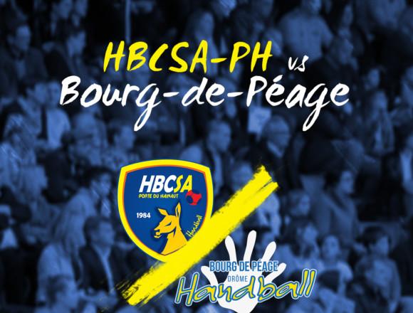 Bourg-de-Péage pour le HBCSA-PH en ⅛ !