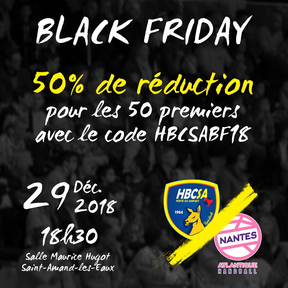 -50% pour le Black Friday