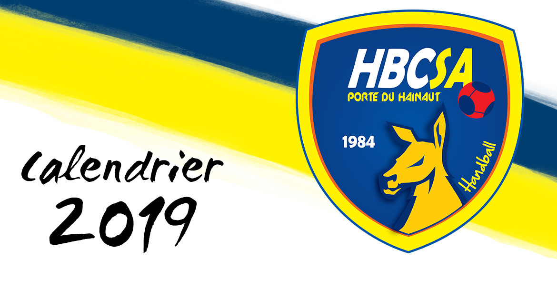 Les calendriers 2019 du HBCSA-PH sont disponibles !
