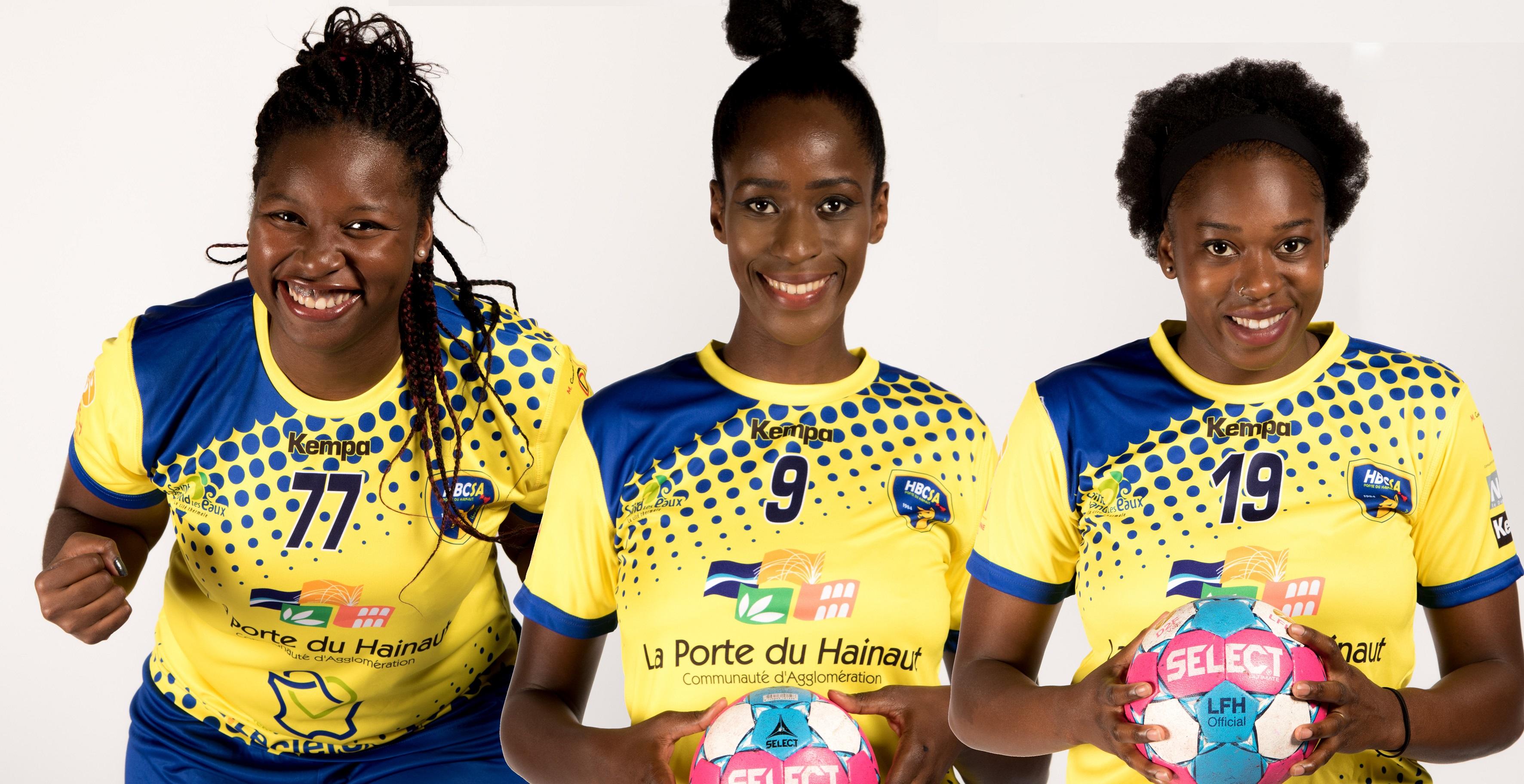 Trois joueuses du HBCSA-PH participeront à la CAN !