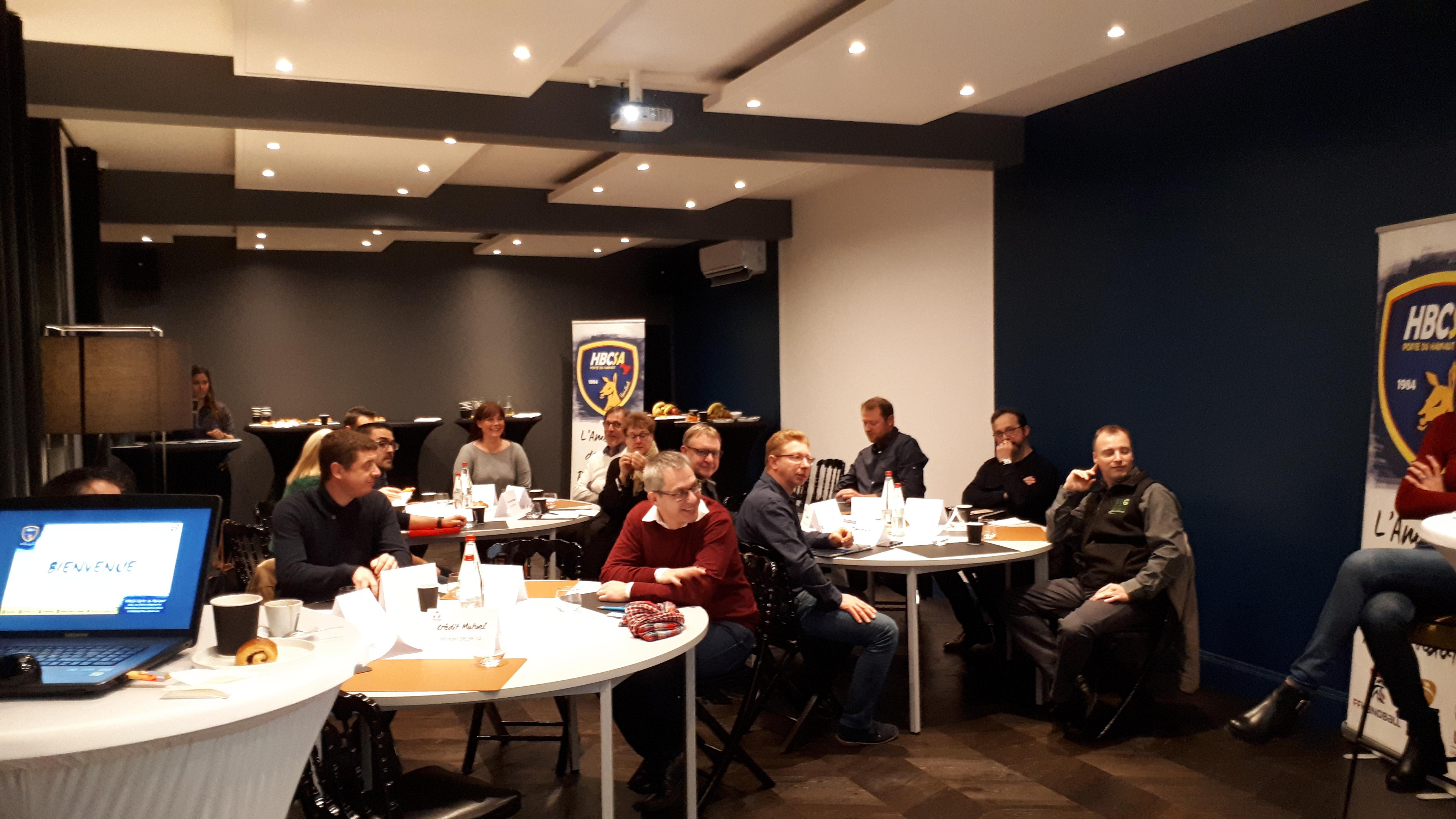 Le HBCSA-PH organise son premier Work-Café !
