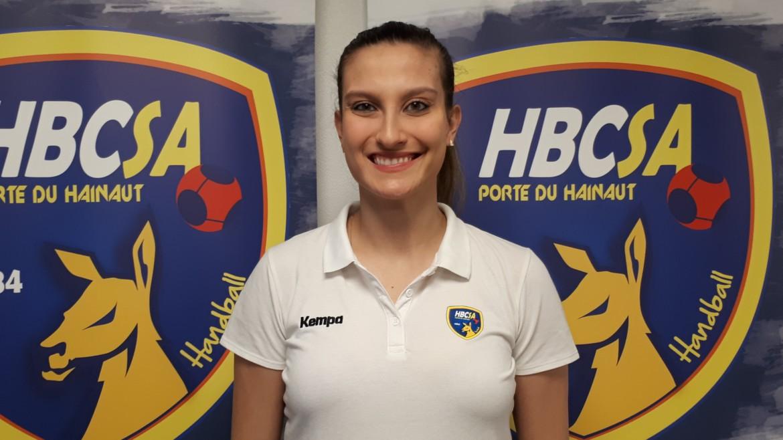 Caroline Martins en renfort au HBCSA-PH !