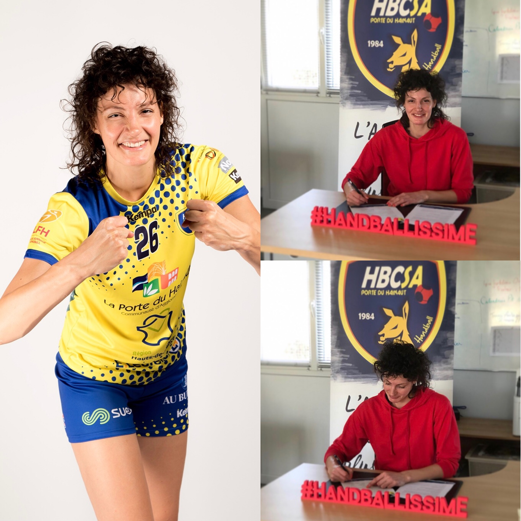 Ivana Filipovic prolonge l'aventure avec le HBCSA-PH !