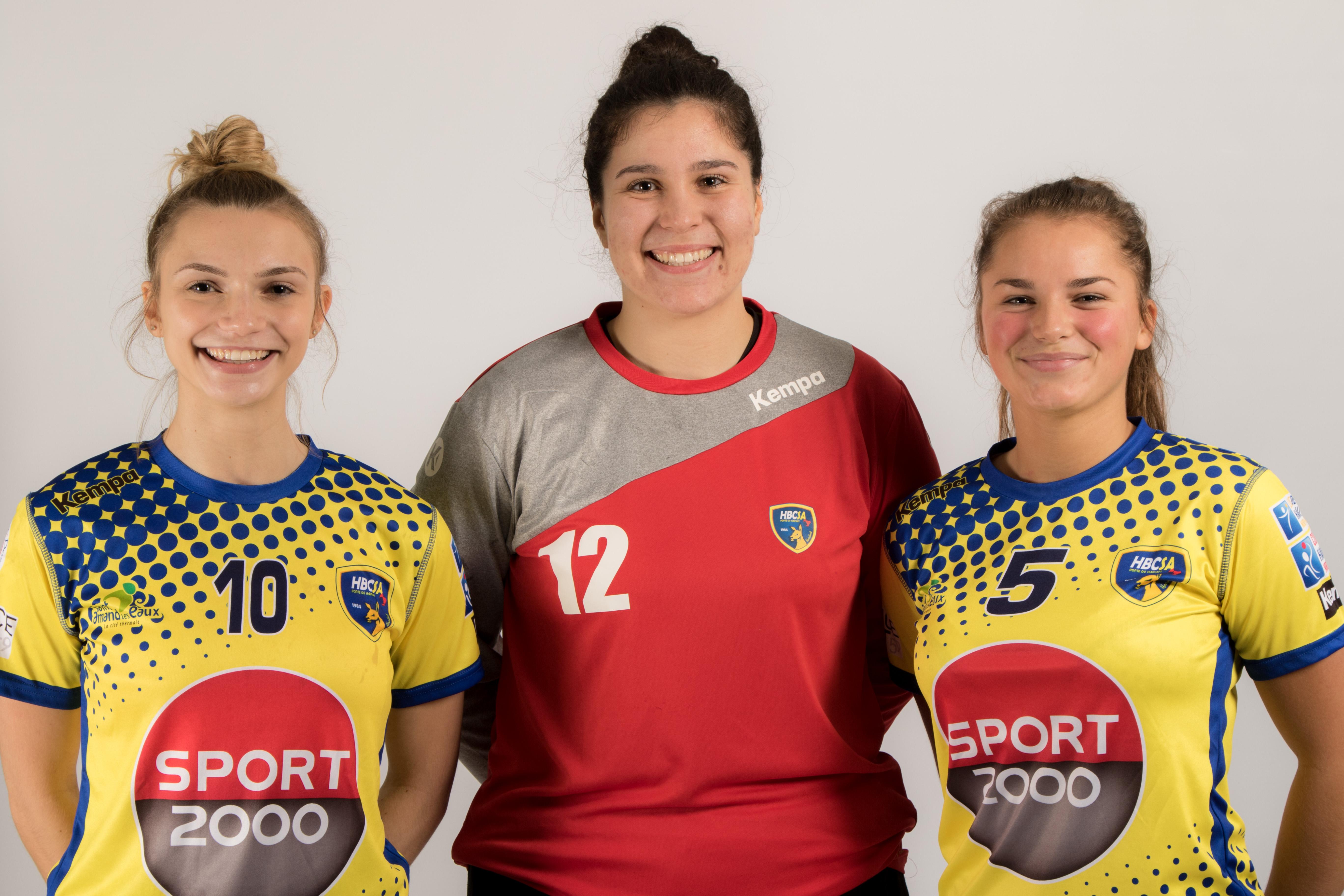 Trois jeunes amandinoises en sélection belge !