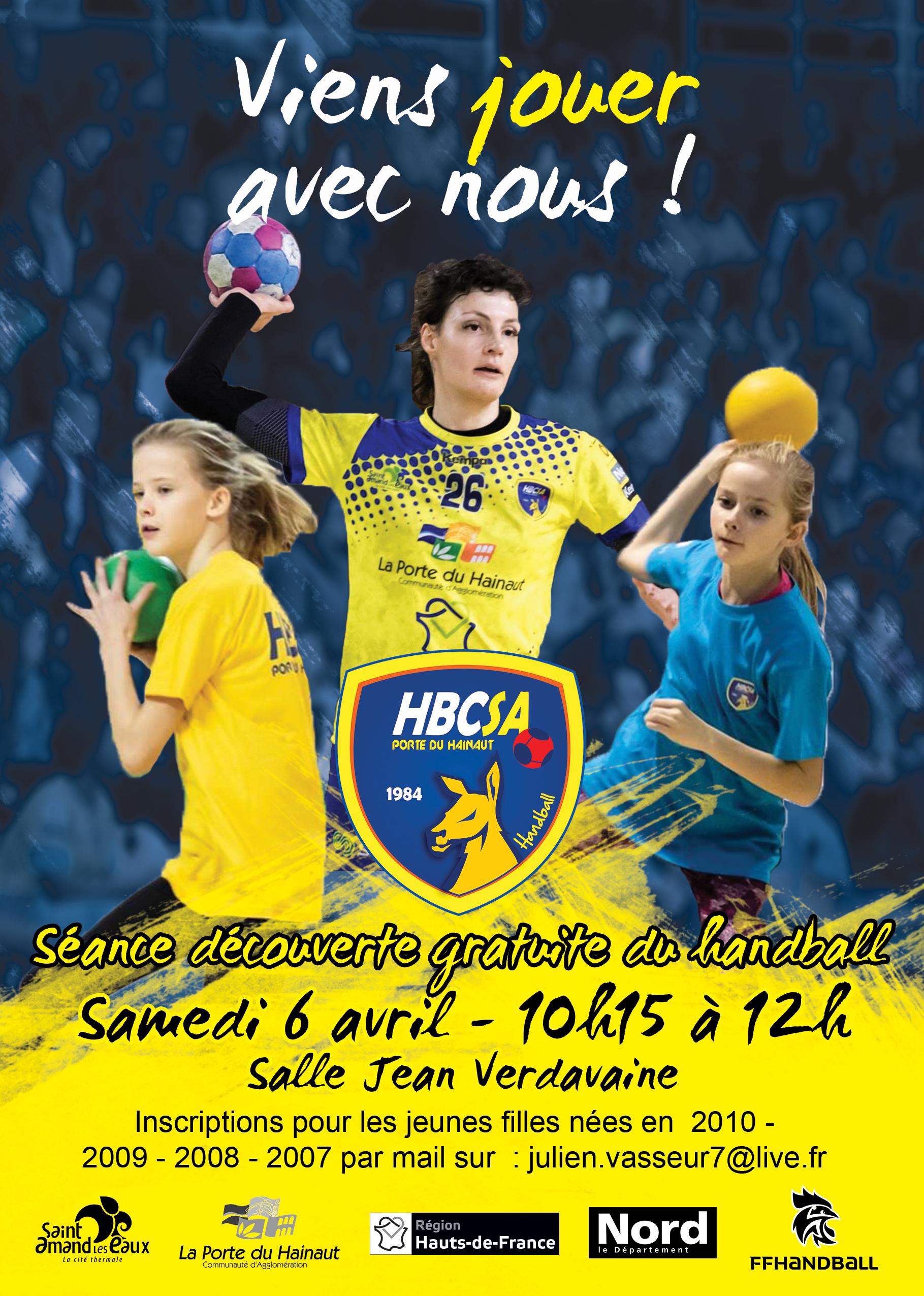Journée découverte du handball féminin