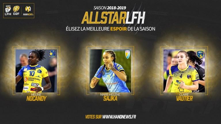 Claire Vautier nominée au All-Star LFH !