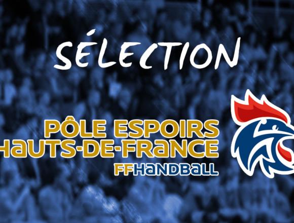 Six amandinoises entrent au Pôle Espoirs des Hauts-de-France !