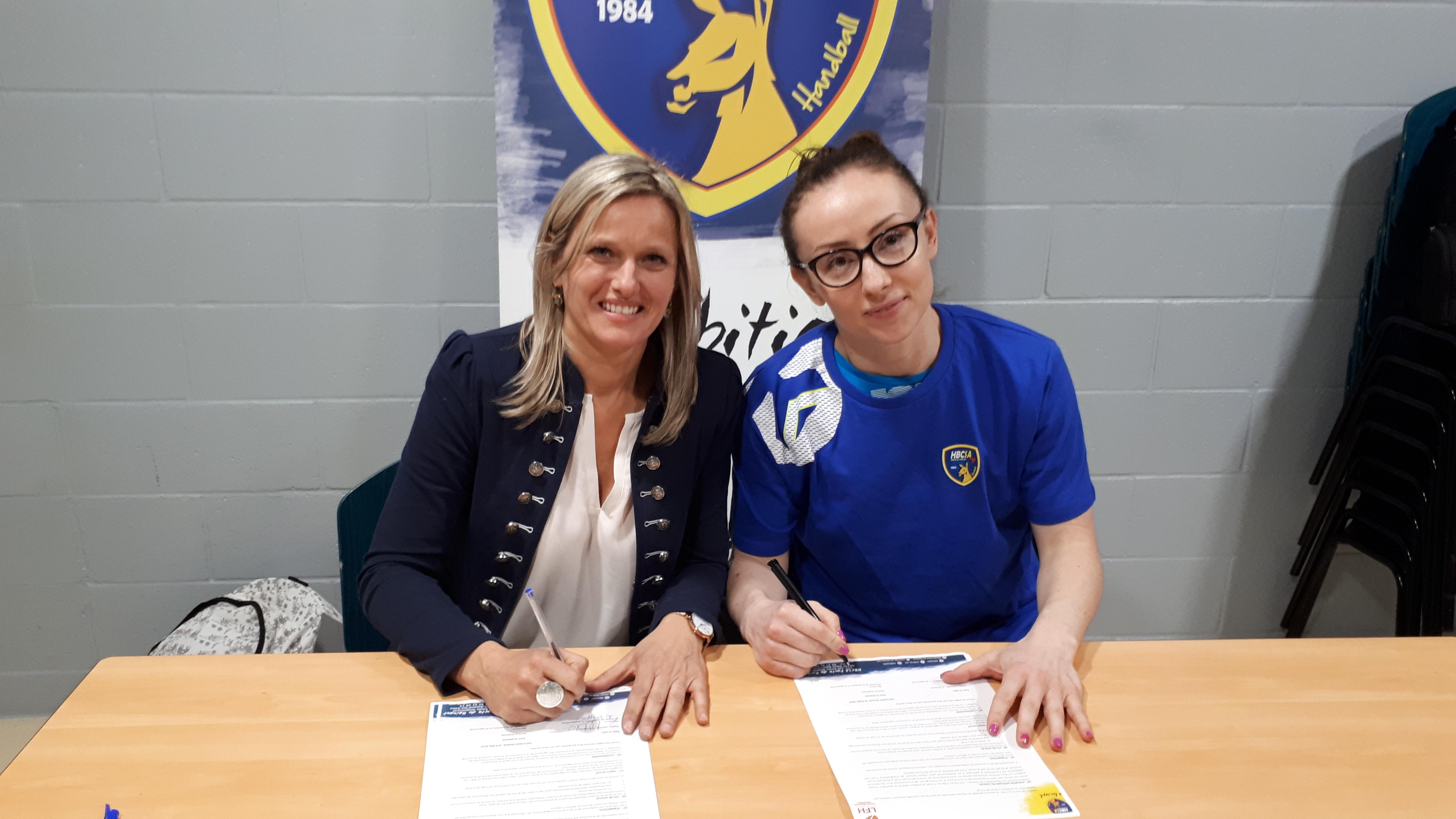 Marina Živković sera amandinoise la saison prochaine !