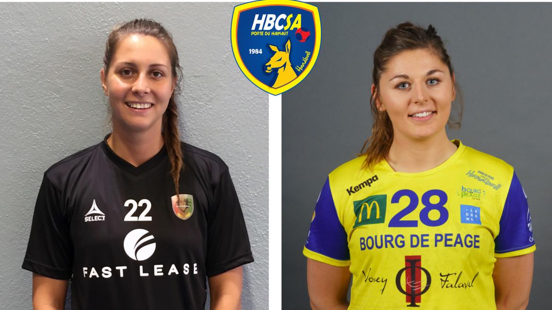 Noémie Barthélémy et Nelly Plazanet seront amandinoises la saison prochaine !