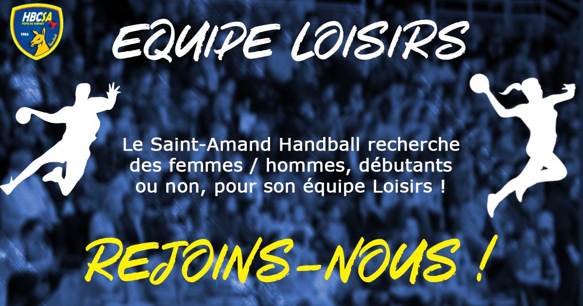 Wanted : recherche joueurs et joueuses pour l'équipe Loisirs
