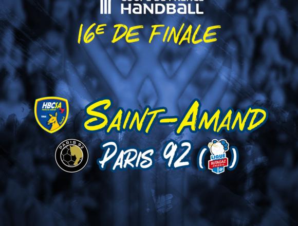 Paris 92 pour le Saint-Amand Handball !