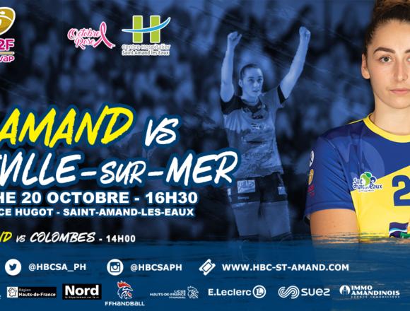 Le CH de Saint-Amand-les-Eaux et le Saint-Amand Hand' soutiennent Octobre Rose !