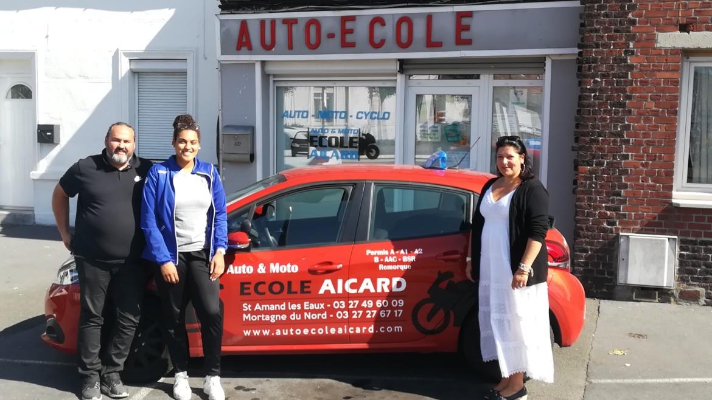 Auto et Moto ÉcoleAicard prolonge son partenariat !