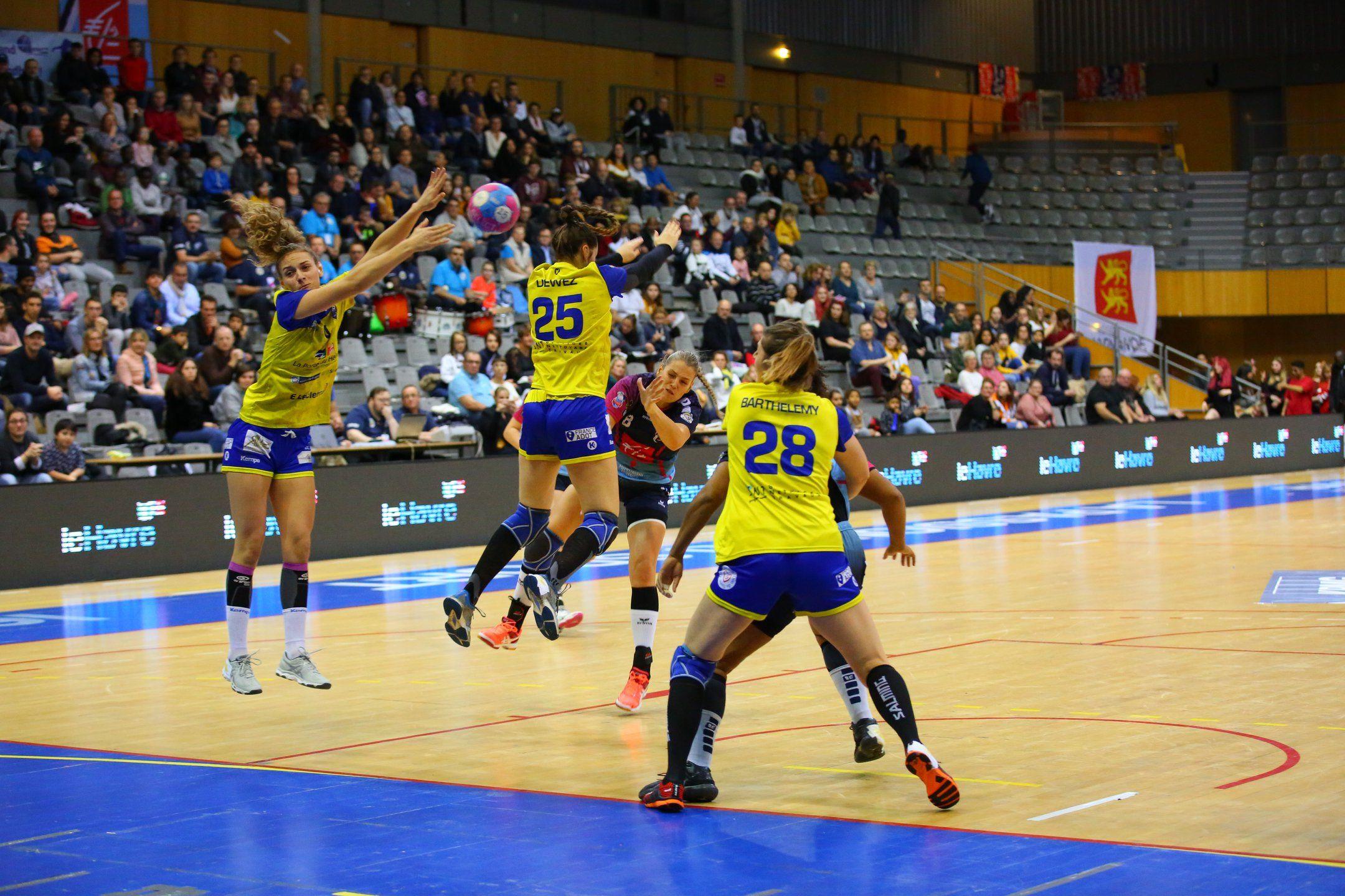 Première défaite pour le Saint-Amand Handball