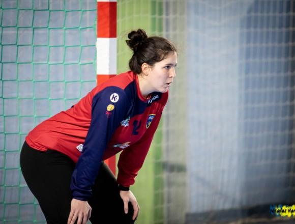 Lili Herenger avec la Belgique contre le Sénégal