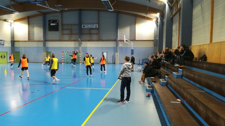 La 1è CFC de la Ligue des Hauts-de-France au Saint-Amand Handball !