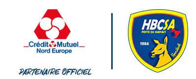 Le Crédit Mutuel Nord Europe toujours aux côtés du Saint-Amand Handball