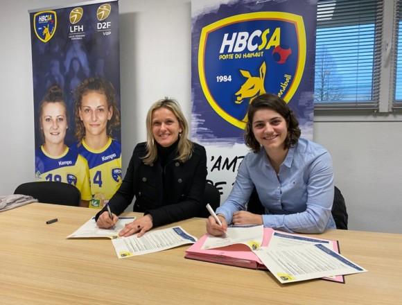 Maëlle Chalmandrier rejoint le Saint-Amand Handball la saison prochaine !