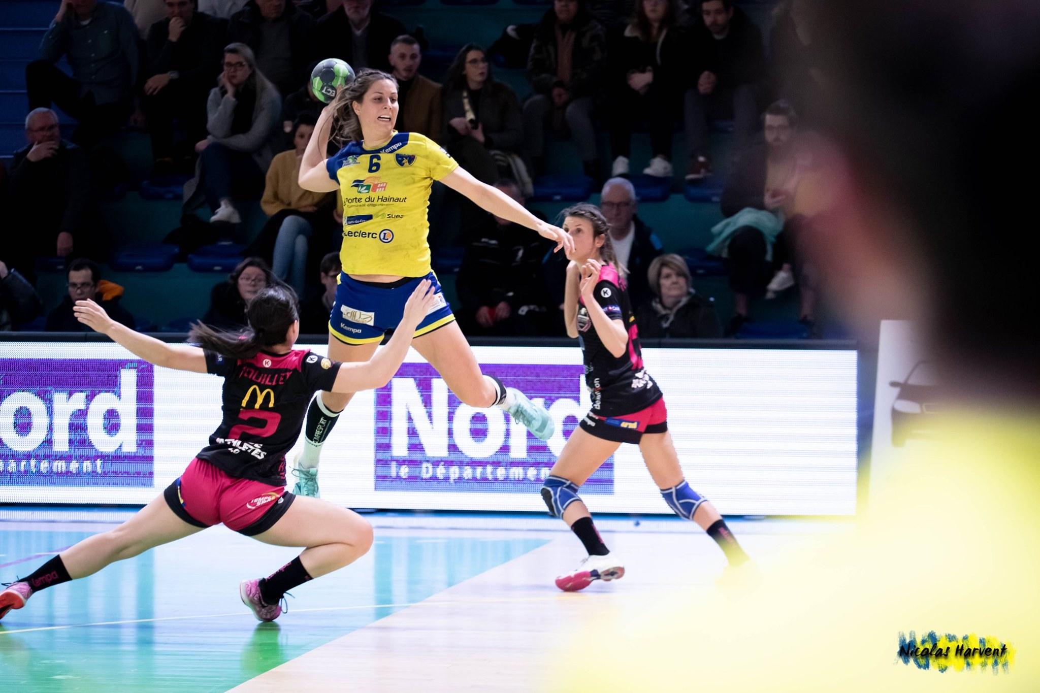 Le Saint-Amand Handball domine Clermont-Ferrand !