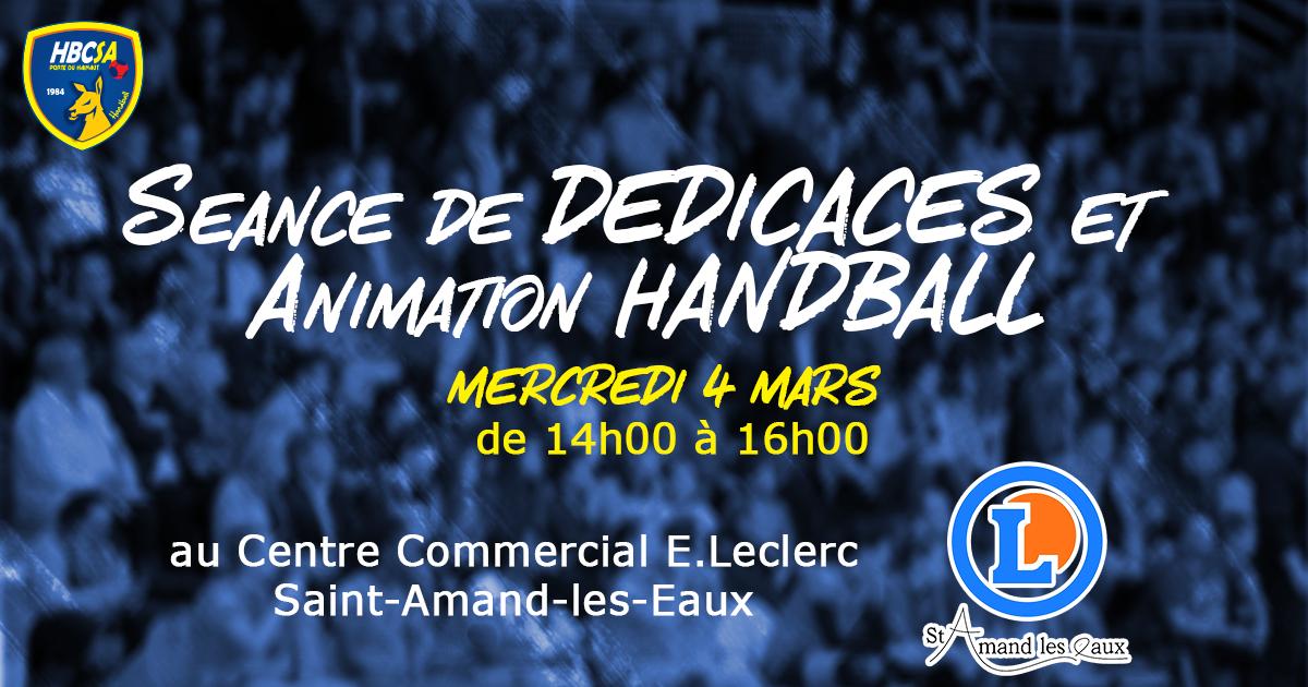 Les amandinoises au E.Leclerc de Saint-Amand-les-Eaux