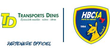 Les Transports Denis signent un partenariat avec le Saint-Amand Handball